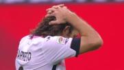 Diego Lopez para con la mano di richiamo e nega a Barreto il goal