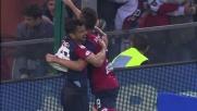 Pavoletti fa esplodere il Marassi con il goal che porta avanti il Genoa sulla Roma