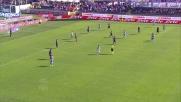 Djordjevic, goal del vantaggio contro la Fiorentina