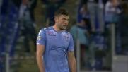 Djordjevic stende il Frosinone finalizzando in goal il contropiede laziale