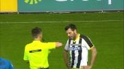 Domizzi in ritardo su Hernanes: il tackle gli costa il cartellino rosso