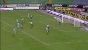 Domizzi in tackle falloso su Cavani: il Napoli conquista rigore
