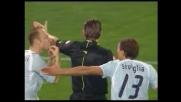 Doni atterra Pandev in uscita, calcio di rigore per la Lazio