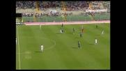 Doni con un morbido pallonetto porta in vantaggio l'Atalanta contro il Livorno