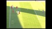 Doni e il palo negano la gioia del goal a Floro Flores