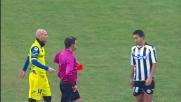 Doppio giallo ed espulsione per Pinzi contro il Chievo