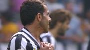 Doppio palo clamoroso di Tevez contro il Verona