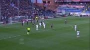 Doppio palo del Cagliari nella sfida con il Genoa