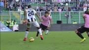 Doppio tacco spettacolare di Muriel contro il Palermo