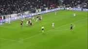 Antonelli segna il goal del momentaneo pareggio contro la Juventus