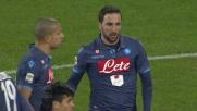 Higuain si guadagna il penalty contro il Genoa