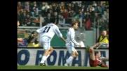 Goal di Nedved nel derby di Roma