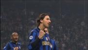 Ibrahimovic porta in vantaggio l'Inter su rigore contro la Reggina