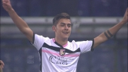 Dybala fa un eurogoal contro il Genoa per il momentaneo vantaggio