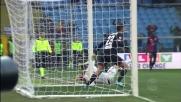 Dzeko fa tremare il palo contro il Genoa