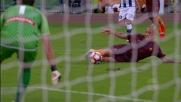 Dzeko, tris della Roma sull'Udinese