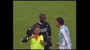 Diamoutene travolge Favalli e si guadagna il cartellino rosso