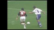 A San Siro Batistuta segna il goal del 2-0 contro il Milan