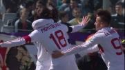 Montolivo strappa un pallone sulla trequarti e segna il goal dello 0-1 alla Fiorentina