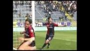 Matri calcia dopo la respinta, goal del Cagliari