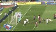 Lukovic di testa, palo dell'Udinese col Bologna!