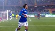 L'errore di Roncaglia spiana la strada al goal di Eder nel derby genovese