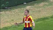 Goal sotto porta di Mesbah: pareggio del Lecce contro il Cagliari