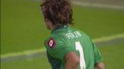 Perin esce con un perfetto tempismo su Gargano in Genoa-Parma