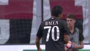 Destro largo di Bacca, sfuma il goal in Milan-Sassuolo