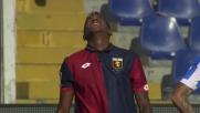 Edenilson già ammonito atterra Caprari e viene espulso: Genoa in dieci col Pescara