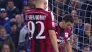 Eder fa goal e porta la Sampdoria in vantaggio contro il Milan a Marassi