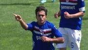 Eder segna un bel goal da fuori area in Udinese-Sampdoria