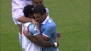 Ederson con un bellissimo goal di testa porta la Lazio in vantaggio