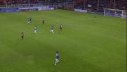 Edgar Barreto colpisce la traversa nel derby con il Genoa