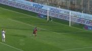 Eduardo para in uscita il pallonetto di Matri a Cagliari
