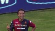 Ekdal porta in vantaggio il Cagliari con un inserimento perfetto