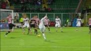 El Shaarawy trova un angolo impossibile e segna il goal del pareggio contro il Palermo