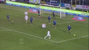 Elastico e tiro di Ibrahimovic in Atalanta-Milan
