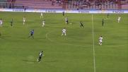 Emeghara infila Rosati da posizione impossibile, riporta il Livorno in vantaggio