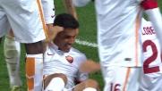 Emerson Palmieri realizza il suo primo goal in Serie A al Meazza contro il Milan
