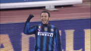 Pazzini sigla il raddoppio dell'Inter sul Bari