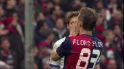 Errore al tiro per Floro Flores contro l'Atalanta