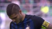 Errore clamoroso dal dischetto per Icardi contro il Cagliari