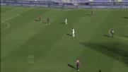 Errore di Del Fabro, il Livorno parte in contropiede