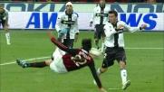 Borriello segna un goal spettacolare in acrobazia contro il Parma