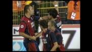 Esposito anticipa tutti e segna il goal-vittoria del Cagliari