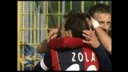 Esposito riporta in vantaggio il Cagliari, grazie a... Zola