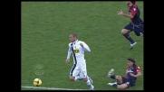 Espulsione di Lopez. Cagliari in inferiorità numerica contro l'Atalanta
