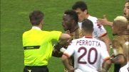 Espulsione incredibile per proteste di Muntari