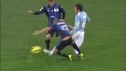 Espulsione per un fallo duro di Carmona contro la Lazio
